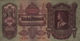 Hongarije P112 Szâz Pengo 1930