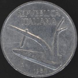 Italië KM#93 10 Lire 1954R