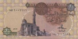 Egypte P50.d 1 Pound 1978-2008