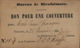 België - Verviers  Cook 1855