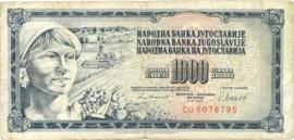 Joegoslavië P92.d 1.000 Dinara 1978-1981