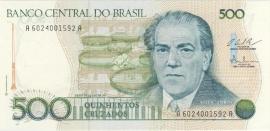 Brazilië P212.c: 500 Cruzados No Date 1986 UNC