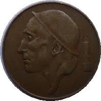 België KM145 50 Centimes 1952-1954
