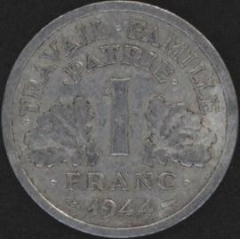 Frankrijk 1 Franc KM902 1944C Vichy
