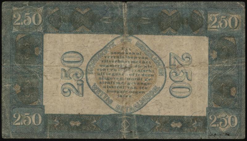 Nederland PL13.a2: 2½ Gulden 1922