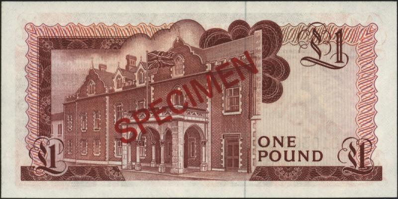 Gibraltar P20.s.a 1 pound 1975-88