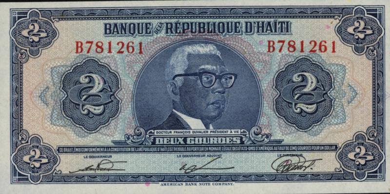 Haïti P231 2 Gourdes 1979