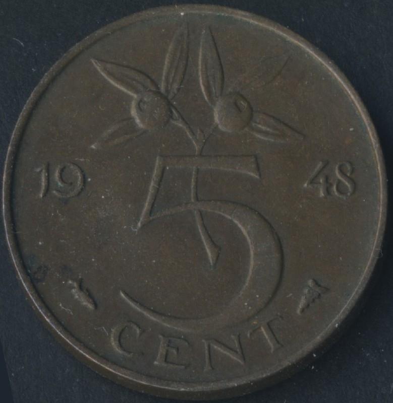 Sch.1076 5 Cent 1948