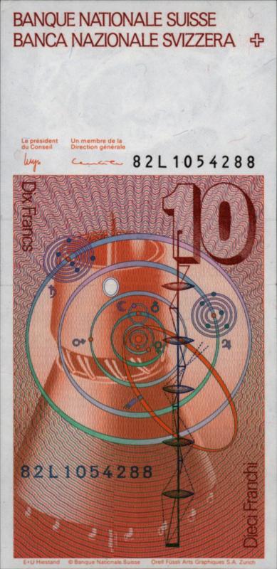 Zwitserland P53.d 10 Franken 1981-'82