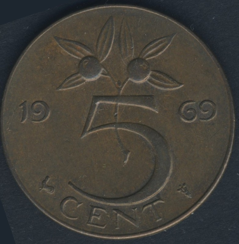 Sch.1218 5 Cent 1969 Haan