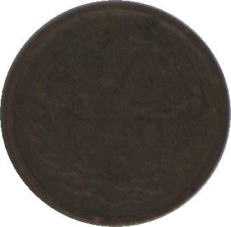 Nederland Sch.1018 ½ Cent 1936