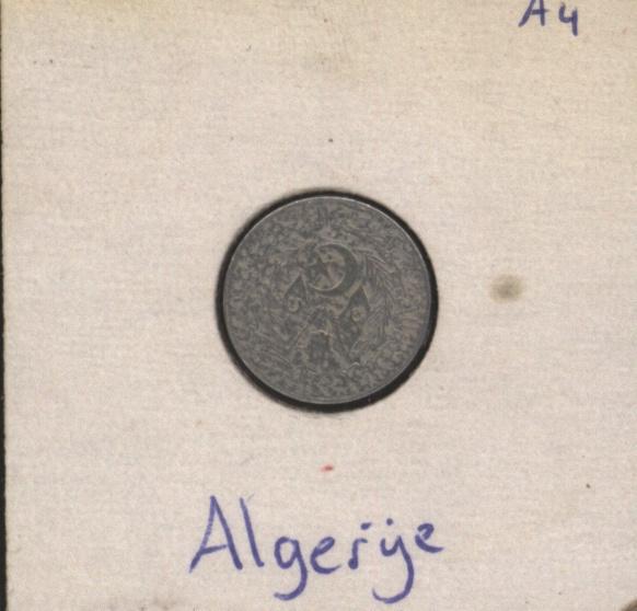 Algerije 1 Centime 1964 KM94