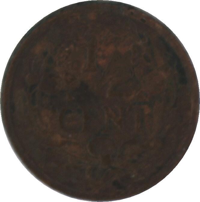 Nederland Sch.1016 ½ Cent 1930
