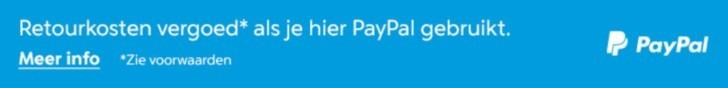 Paypal vergoed retour