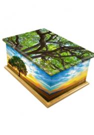 Tree of life urn kist