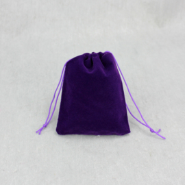 Cremation bag for ashes purple