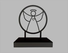 Urn engel van gecoat staal (1,8-3L)