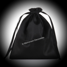 Satin cremation bag for ashes