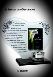 "In memoriam hart met gedicht ""ouders"""