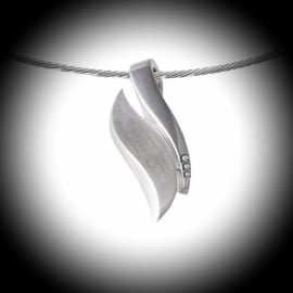 Silver pendant for Ashes