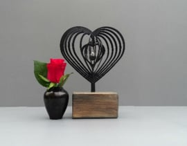 Mini urn 3D Hart