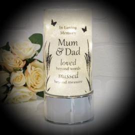 In Memoriam Light Mum & Dad