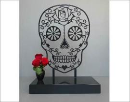 Sugar Skull Urn