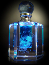 2D Photo in perfume bottle -A
