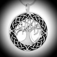 Ashanger Tree of life zwart-zilver