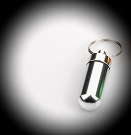 As sleutelhanger Roze of zilver