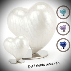Heart cremation Ashes urn