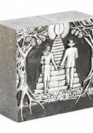 Duo urn -trap naar de Hemel-Silver