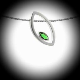 Design Ashanger  zilver
