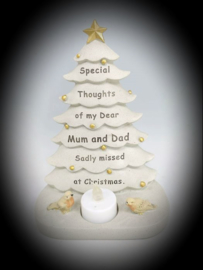 In Memoriam Christmas tree Mom and Dad