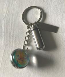Askoker met sleutelhouder en levensboom