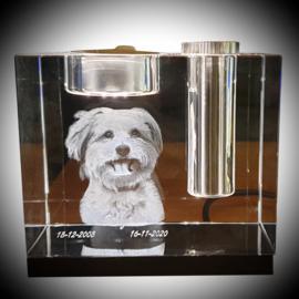 Glaskunst mini urn