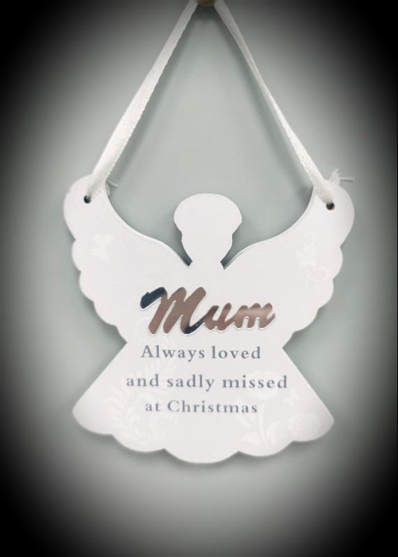 """In Memoriam Engeltje voor de kerstboom """"Mam"""""""