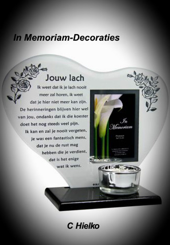 """""""your smile"""" candle light holder with photoframe"""