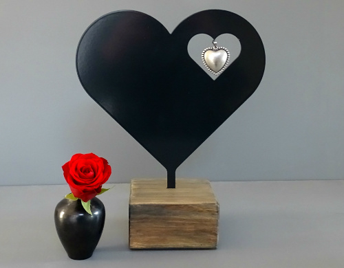 Keepsake mini urn Heart