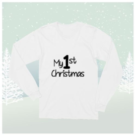 Longsleeve Shirt My 1st Christmas