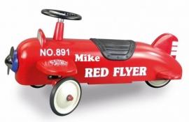Loopauto met naam - Loopvliegtuig Spitfire met naam (eind juni/begin juli weer leverbaar)