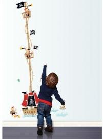 Groeimeter Piratenschip- A7063