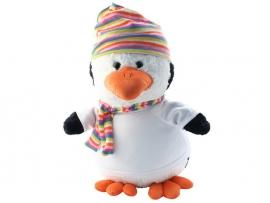 Pinguinknuffel met naam en/of geboortedatum