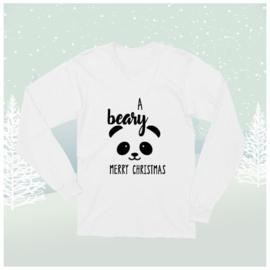 Longsleeve Shirt A Beary Merry Christmas