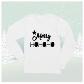 Longsleeve Shirt Merry HOHOHO