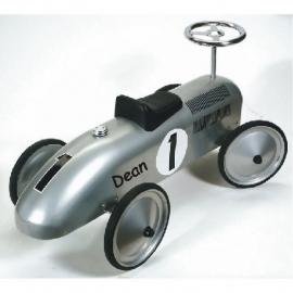 Loopauto met naam - Race auto Spitfire met naam (eind juni/begin juli weer leverbaar)