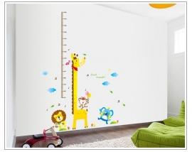 Groeimeter Giraffe & friends - A7015