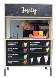 Stickerset Juicebar voor Ikea Duktig Speelgoedkeuken