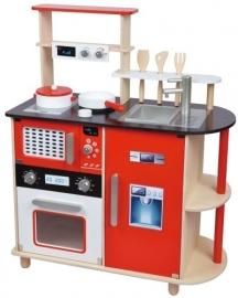 Houten keukentje modern, New Classic Toys