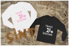 Longsleeve Shirt Eerste Sinterklaas met naam